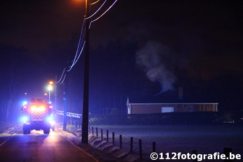 Uitslaande brand te Kalmthout