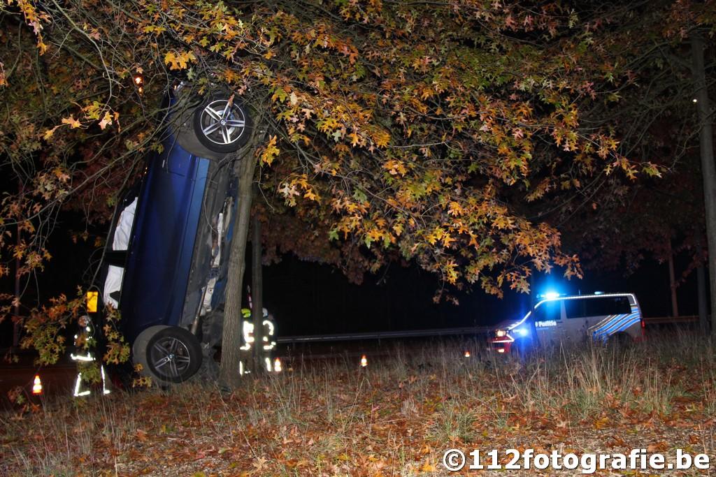 spectaculair ongeval