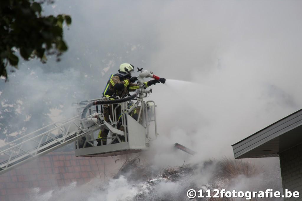 brand gebouw
