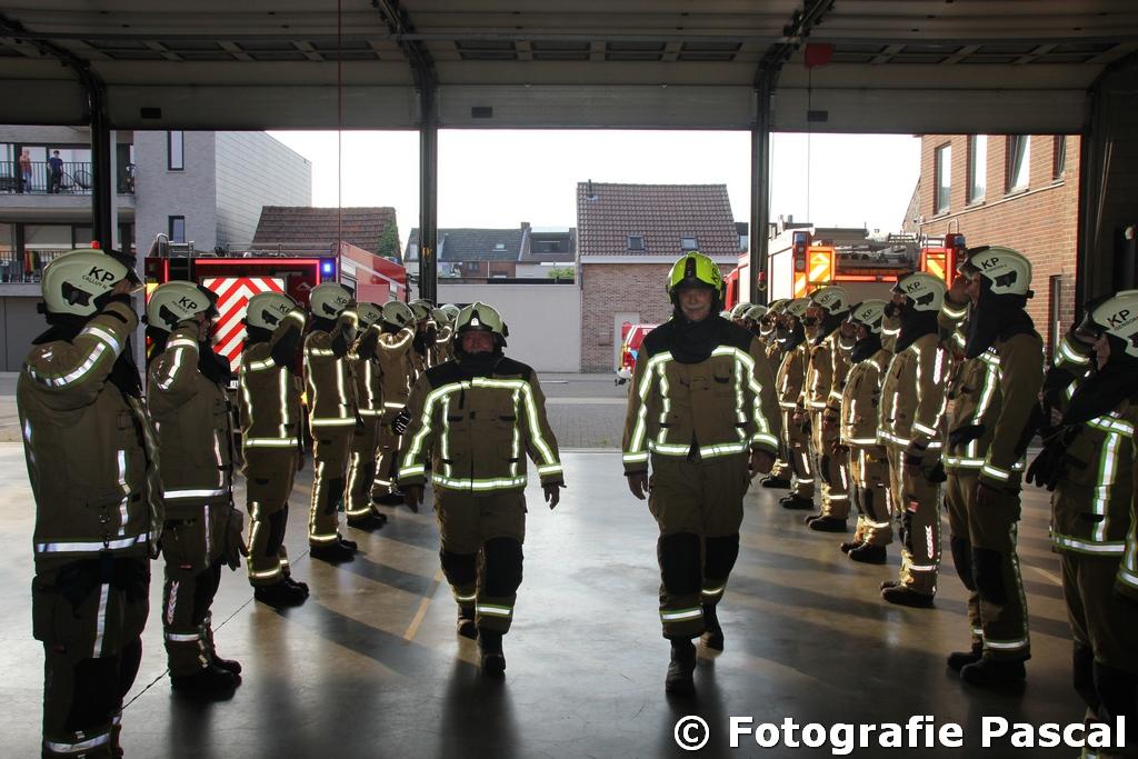 Twee Kapelse brandweermannen op pensioen