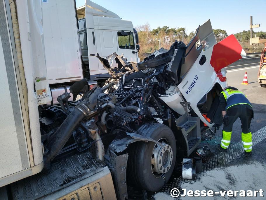 zwaar verkeersongeval